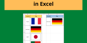Create a Picture Lookup in Excel