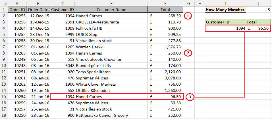 VLOOKUP to find last match