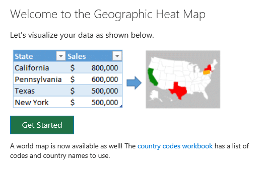 Get started with creating the heat map