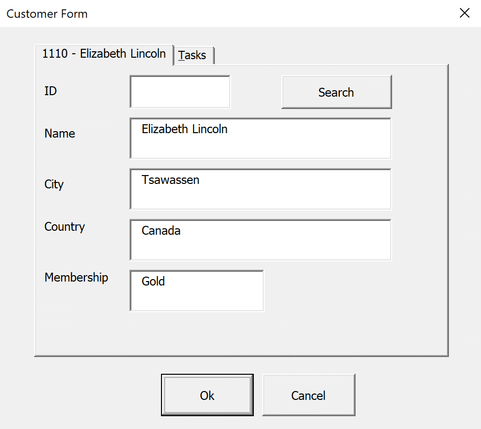 Changing the Caption property with VBA