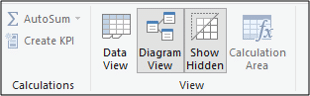 Switching to the Data view