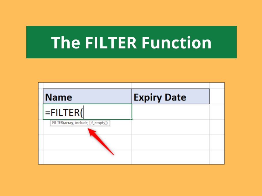 Excel FILTER Function – The Best Function in Excel