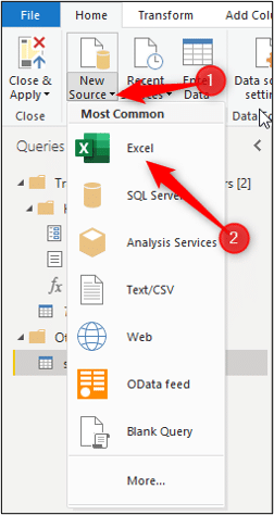 Get data from Excel