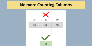 Excel VLOOKUP Trick - No More Counting Columns