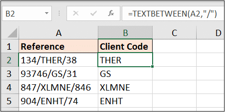 Second Excel LAMBDA function example working great